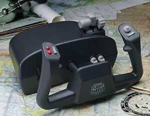 flight simulator yoke/controls and pedals (CH products)