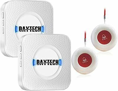 Daytech Notrufknopf für Senioren Funkklingel, Hausnotruf Senioren
