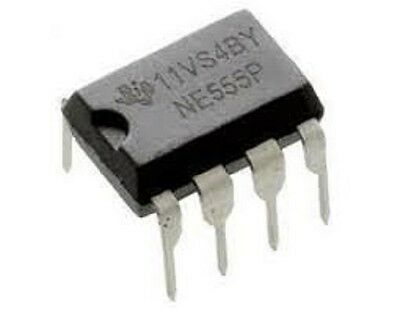 5pcs Ne555 Timers Ne555p Precision Timer Chip Ic 555 Dip-8 Us Seller