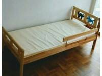As new - Ikea Kritter Toddler Bed/ Junior Bed and Spring Mattress 70x160cm 2-8 Years