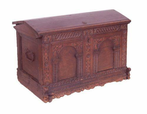 Antique carved chest ebay