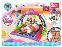 BABY'S FRIENDS - MOVE & PLAY ACTIVITY GYM AND PLAY MAT ��16 EACH