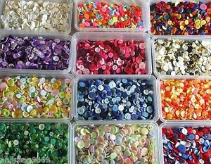 MIXED-BUTTONS-50G-75G-100G-OR-150G-ARTS-CRAFTS-BAG-VARIOUS-COLOUR-CHOICES