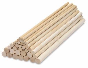 """Wood Dowel 3/8"""" dia 24"""" long"""