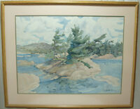 Pair of Original Elizabeth Berry Watercolour Paintings