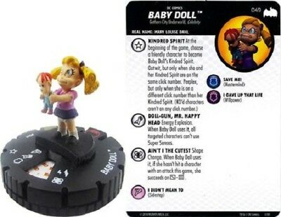 DC Heroclix - Batman: The Animated Series - BABY DOLL #049 SR Super-Rare