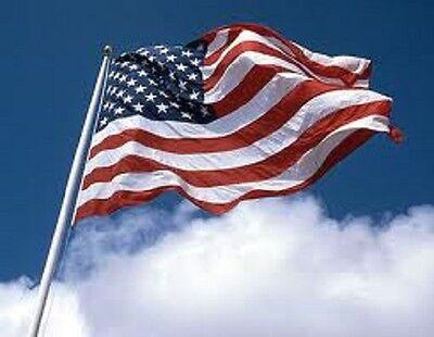 3'x5' US Nylon I American Flag USA ...