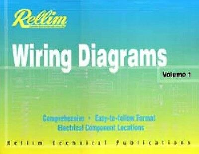Rellim Wiring Diagrams Volume 1-10 Set FACTORY AUTO ELECTRICAL REPAIR MANUAL