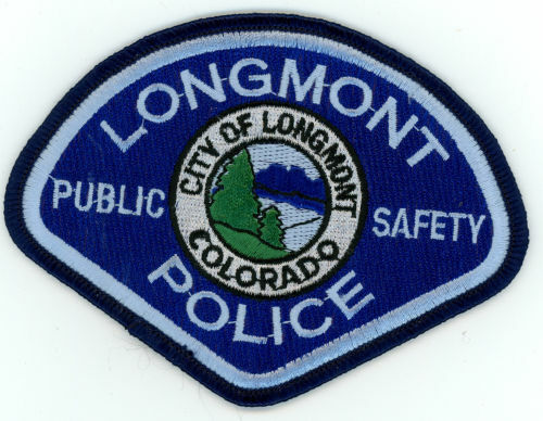LONGMONT POLICE COLORADO CO NICE COLORFUL PATCH SHERIFF