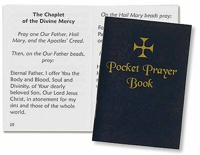 Pocket Prayer Book Catholic Traditional Blue Cover New  Rc768