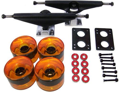 LONGBOARD Skateboard 9.75 in TRUCKS 70mm WHEEL COMBO