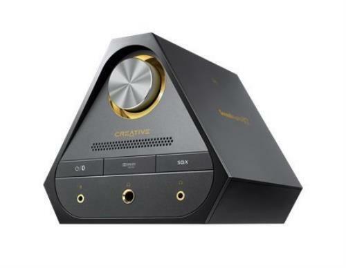 Sound Blaster X7 Black SB1580 high-resolution DAC audio amplifier SB-X-7
