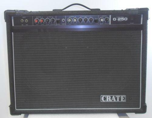 crate electric guitar amplifier ebay. Black Bedroom Furniture Sets. Home Design Ideas