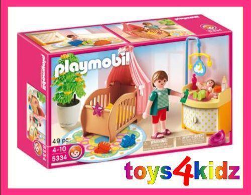 Playmobil Luxusvilla Kinderzimmer: Playmobil 5311 Kinderzimmer Set ...