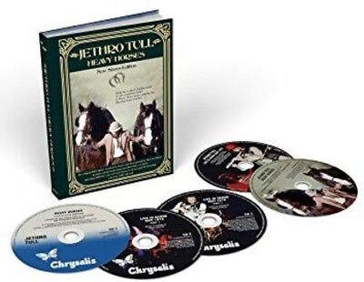 Jethro Tull   Heavy Horses  New Shoes Edition   New Cd  With Dvd