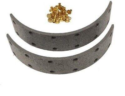 70230874 Brake Shoe Lining Kit With Rivets For Allis Chalmers G D10 D12 D14 D15