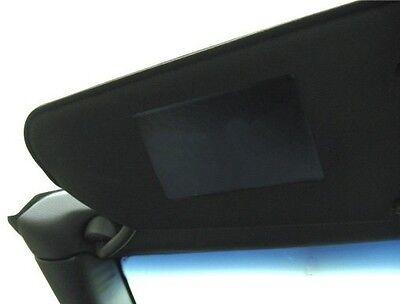 C7 Corvette Stingray Visor Warning Decal Label Covers PAIR