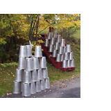 25 GREAT Aluminum Sap Buckets 2 GALLON SIZE Maple Syrup Bucket W@W!!