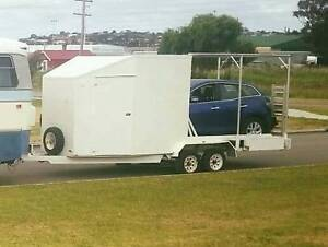 Semi Enclosed Car trailer with Seperate room Airlie Beach Whitsundays Area Preview