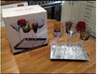 seven piece liqueur set