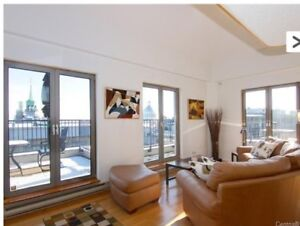 Old Montreal - Penthouse Flat - A voir Dispo 1er Aout (2 SDB)