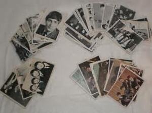 Cartes collectionner des Beatles Trading cards