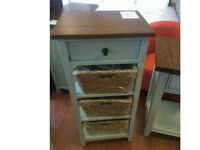 Brand new! Reclaimed hand painted 3 basket stand was £299 now £149