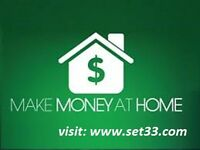 Flexible hours work from home. $43 per hour.
