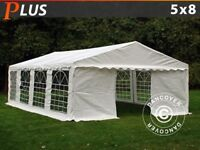 5 x 8 foot Marquee Including Carpet and Lights Fully Waterproof