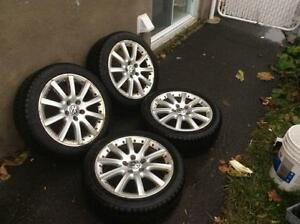 Mags VW 17 P-ORCA (MADE IN GERMANY)+Pneus Hiver Neuf!!!