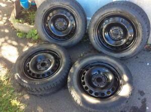 RIM Volkswagen 5X112 + pneus d'hiver Pirelli!!!