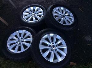MAG 16 P Volkswagen Passat neuf+ Pneus d'hiver 215/60/16 !!