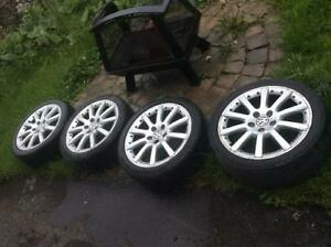 Mags VW 17 P-ORCA (MADE IN GERMANY)+Pneus 215/45/17