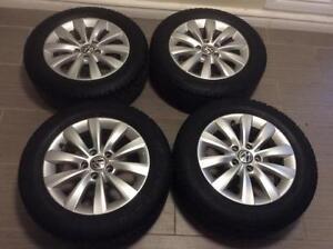 MAG 16 P D'origine Volkswagen neuf+ Pneus d'hiver 215/60/16 !!