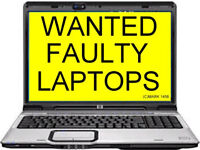 Faulty Laptops Wanted for Cash ! Free Fast pick up ! Call or Text us, up to £30