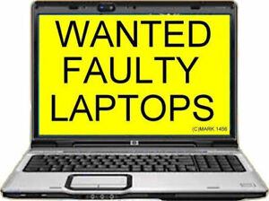 Cash Today For Broken Or Unwanted Laptop/s