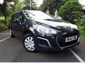 2012 Peugeot 308 SW 1.6 HDi 92 Access 5 door Diesel Estate