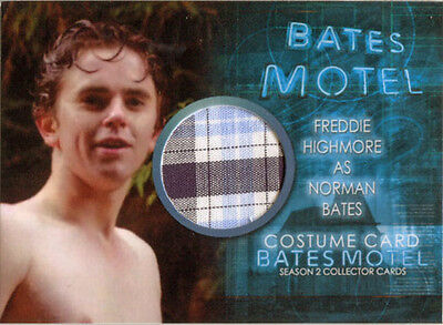 Bates Motel Season 2 Costume Card CFH1 Freddie Highmore as Norman (Norman Bates Costume)