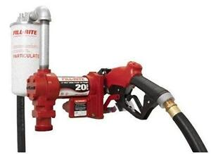 FillRite 12Volt Fuel transfer pump   FR4210G Fuel Transfer Pump
