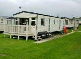 6 birth static caravan for Hire Cayton Bay Holiday Park Scarborough