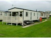 6 birth static caravan for Hire Cayton Bay Holiday Park Scarborough