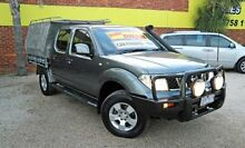 2010 Nissan Navara D40 ST Grey 5 Speed Automatic 4D CAB CHASSIS Upper Ferntree Gully Knox Area Preview