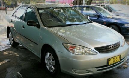 2002 Toyota Camry ACV36R Altise Sedan 4dr Auto 4sp 2.4i Ice Mint Silver Automatic Sedan Penrith Penrith Area Preview