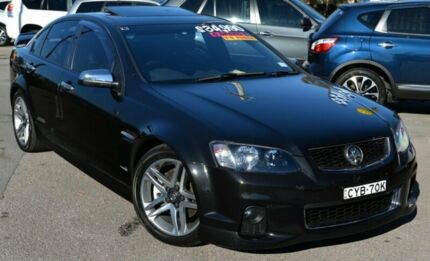 2012 Holden Commodore VE II MY12 SS Black 6 Speed Manual Sedan Phillip Woden Valley Preview
