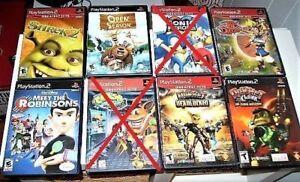 Jeux usagés : PS2 au choix de  4$ à 16$ ch