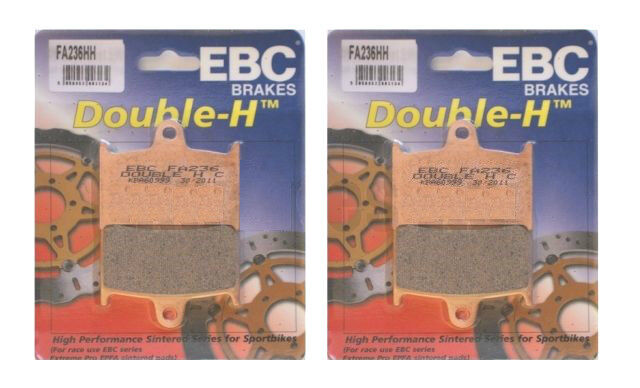 2x Sets EBC FA236 HH Front Brake pads for TRIUMPH Speed Triple 1994 to 2004