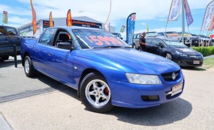 2007 Holden Crewman VZ MY06 Blue 4 Speed Automatic Utility