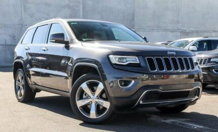 2013 Jeep Grand Cherokee WK MY2014 Limited Grey 8 Speed Sports Automatic Wagon