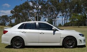 2011 Subaru Impreza G3 MY12 WRX AWD White 5 Speed Manual Sedan Bundaberg West Bundaberg City Preview