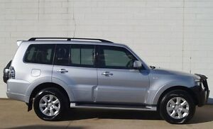 2013 Mitsubishi Pajero NW MY14 GLX-R Silver 5 Speed Sports Automatic Wagon Bundaberg Central Bundaberg City Preview